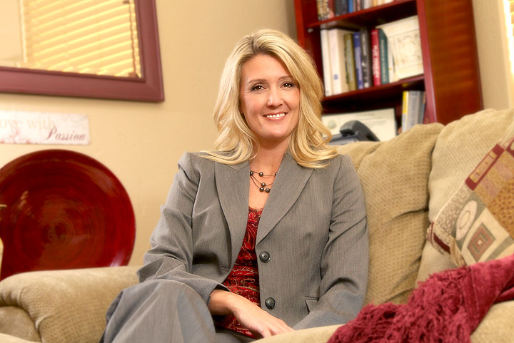 Local author and licensed Marriage and Family Therapist Kristi Fowler.